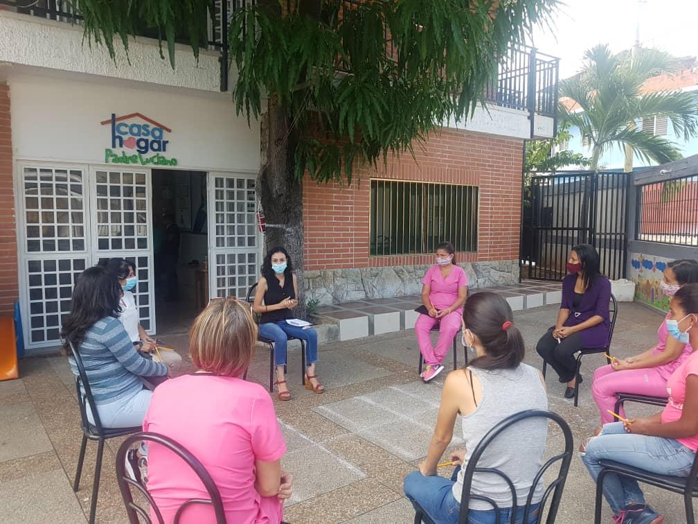 Fundación Chelonia y FundaSitio conmemoran Día Internacional de la Mujer con conversatorio en la Casa Hogar Padre Luciano 2 - Fundación Chelonia y FundaSitio conmemoran Día Internacional de la Mujer con conversatorio en la Casa Hogar Padre Luciano